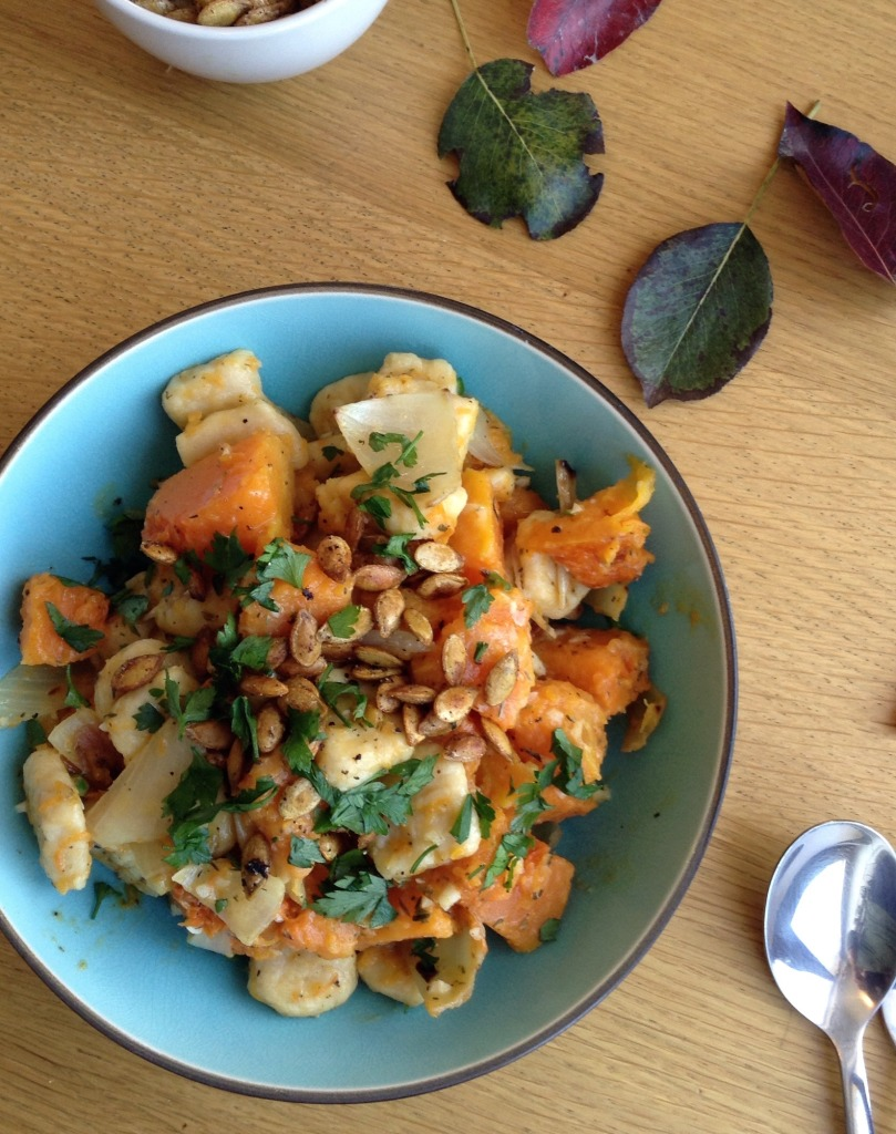 gnocchi with butternut squash