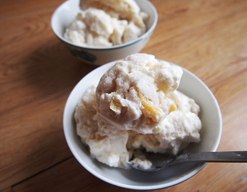 ... coconut milk ice cream with coconut milk ice cream with coconut ginger