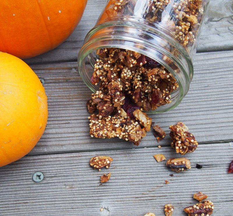 Pumpkin-Nut-Granola