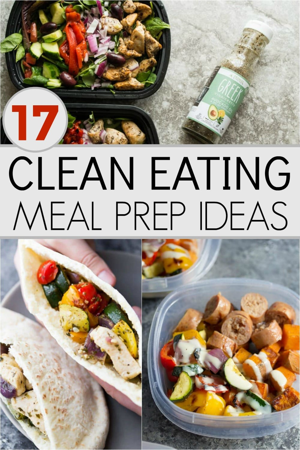 I'm just getting into meal prepping and the main problem I have had is that a lot of the recipes are either boring or unhealthy. I was super excited to find these clean eating recipes that are perfect for meal prep!!