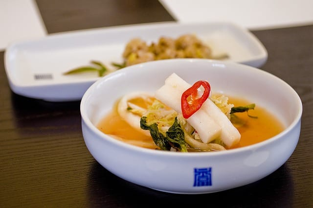 Fermented foods like kimchi are excellent to eat for brain health.