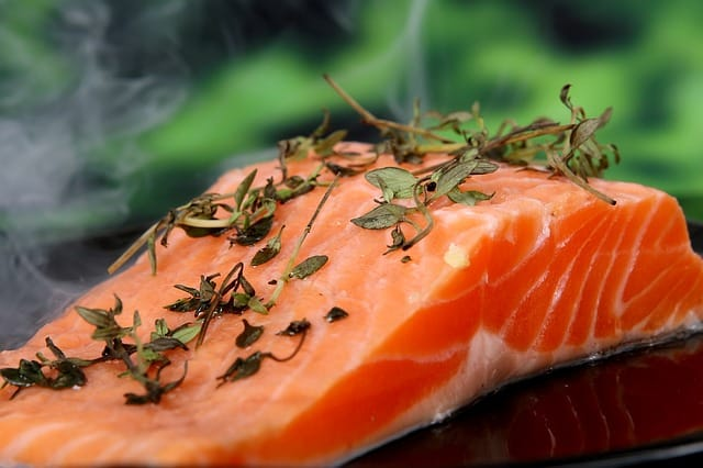 Salmon is a brain food favorite with its healthy fat.
