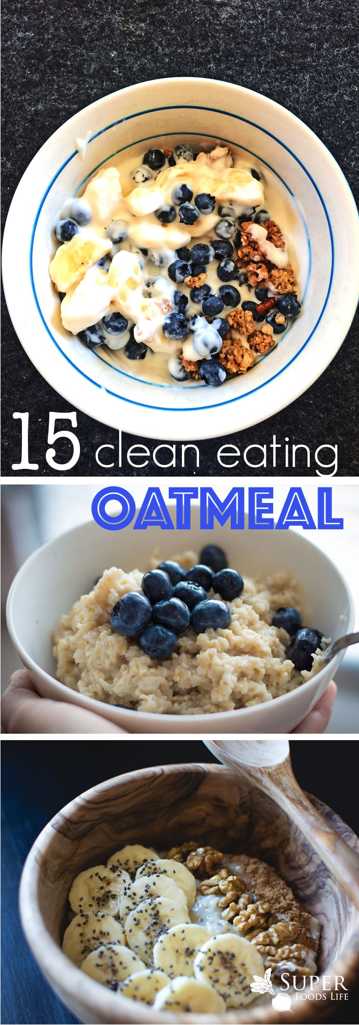 I love oatmeal! It's one of my all time favorite breakfast meals. But oatmeal is not just for breakfast. In fact, there are some really amazing clean eating oatmeal recipes... for lunch and dinner!!