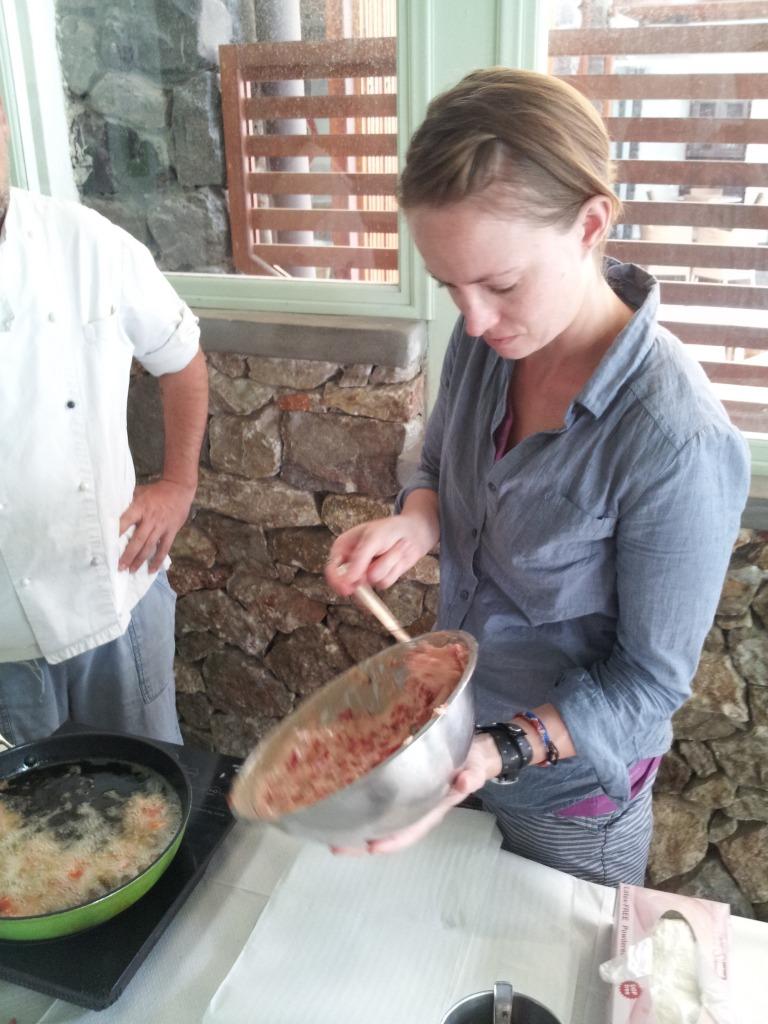 santorini cooking class