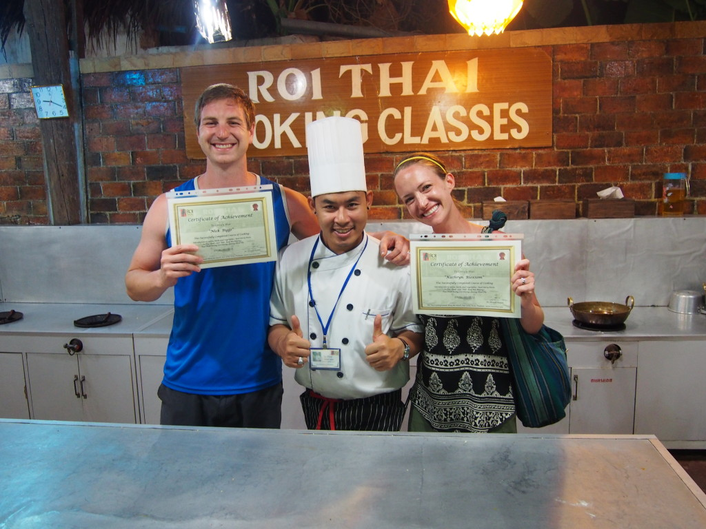 cooking class in Thailand