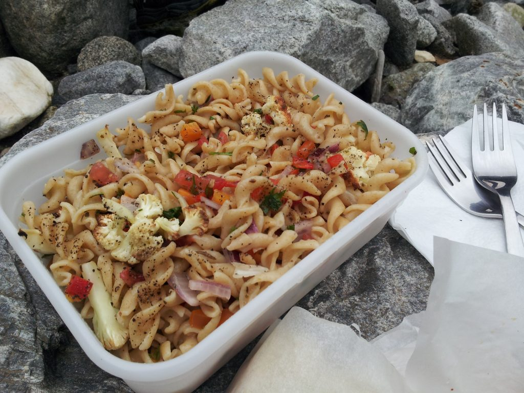 Zesty Whole Wheat Pasta Salad