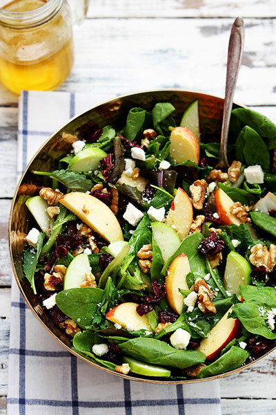 apple-cranberry-walnut-salad