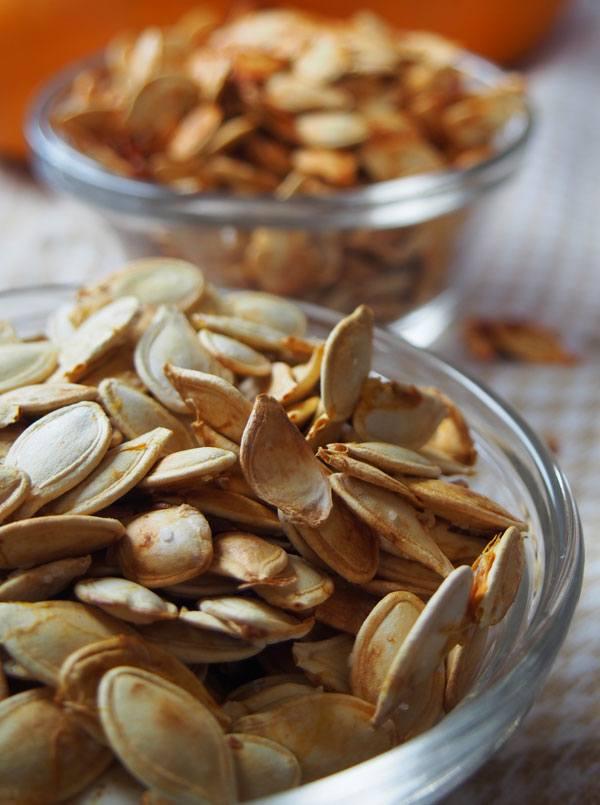Salt and Vinegar Pumpkin Seeds