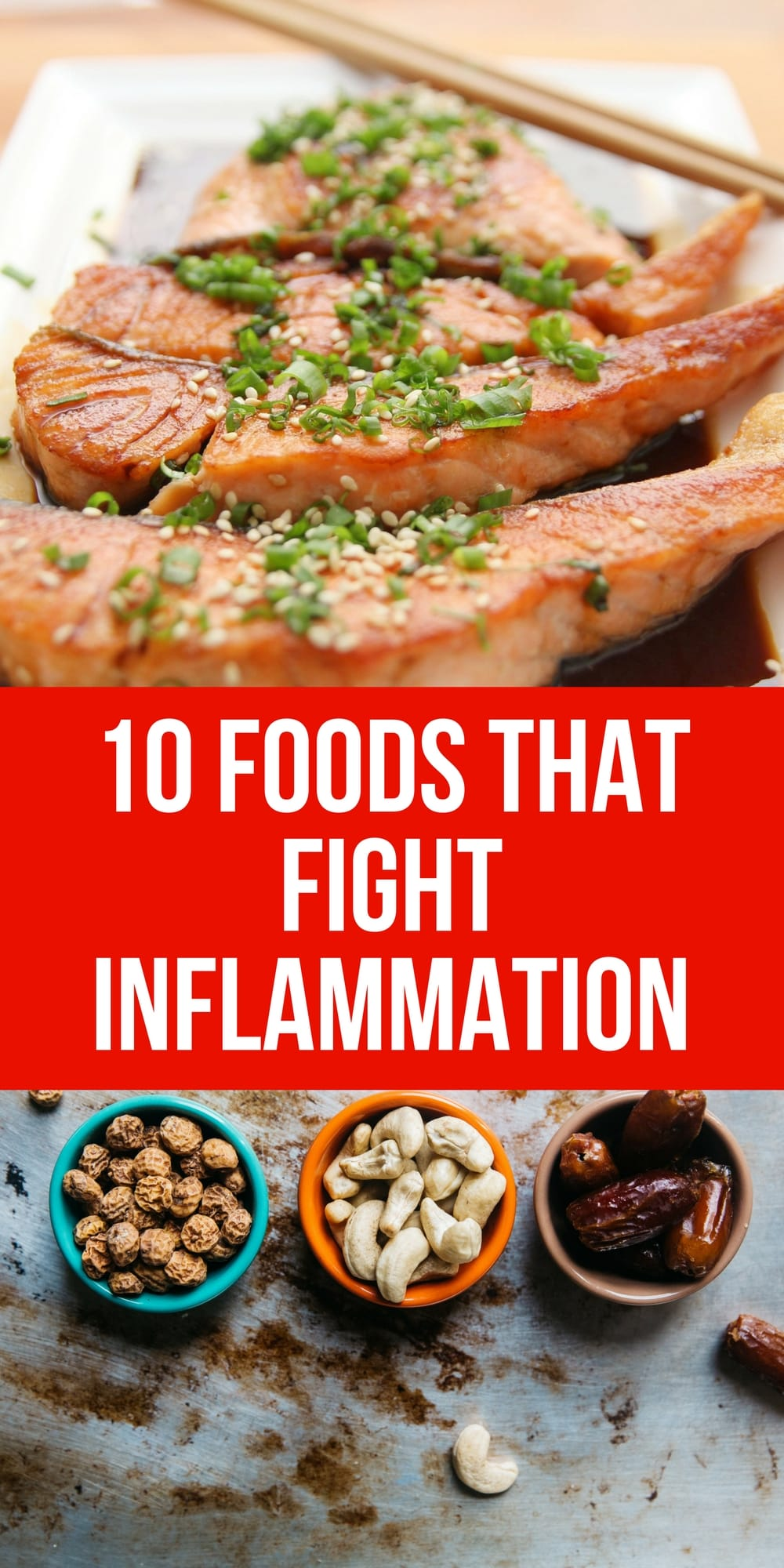 Lots of good tips and recipes for foods that fight inflammation.