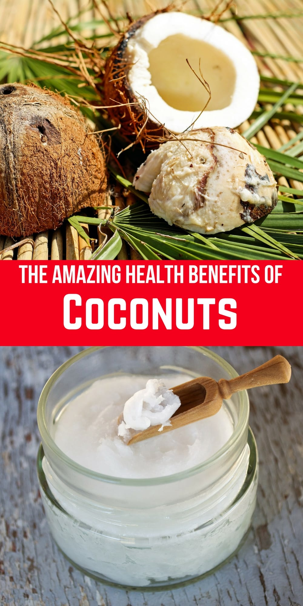 Everything you ever wanted to know about coconut health!! There has been a lot of hype over the past few years about coconuts and their health benefits. This posts breaks down every part of the coconut and the health benefits associated with it.