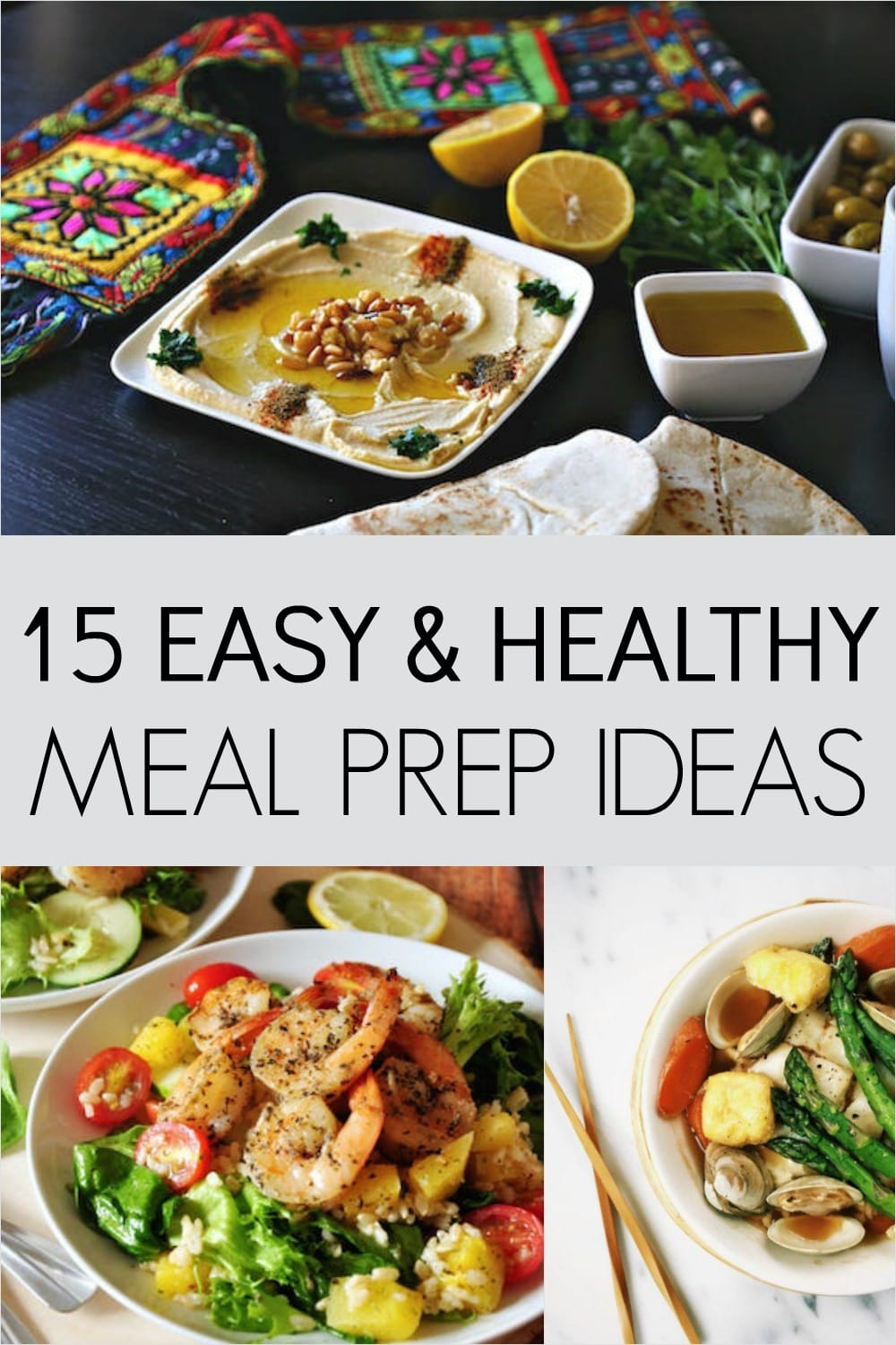 Meal prep for weight loss 15 healthy and easy ideas super foods life im just starting out with meal prepping and so far it has been amazing forumfinder Choice Image