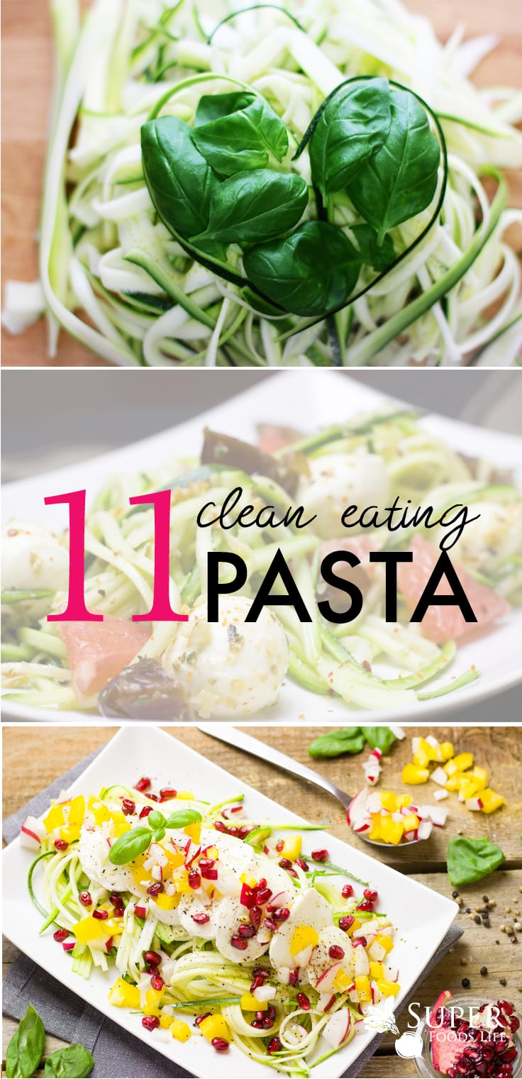I really, really love pasta! And I'm also a big fan of clean eating. Great post with lots of great clean eating pasta recipes!