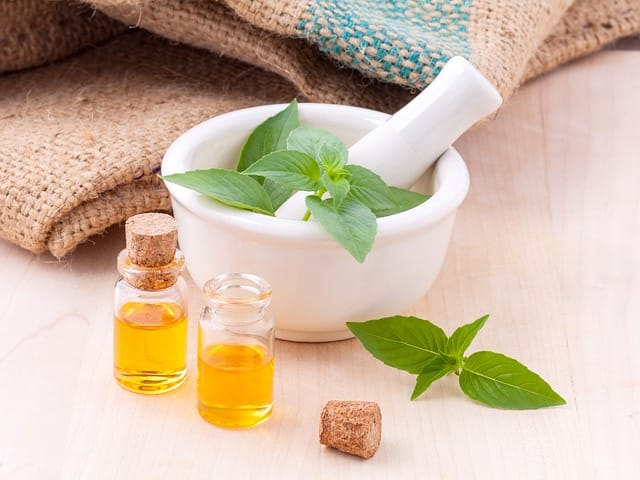 Essential oils for removing warts and moles.